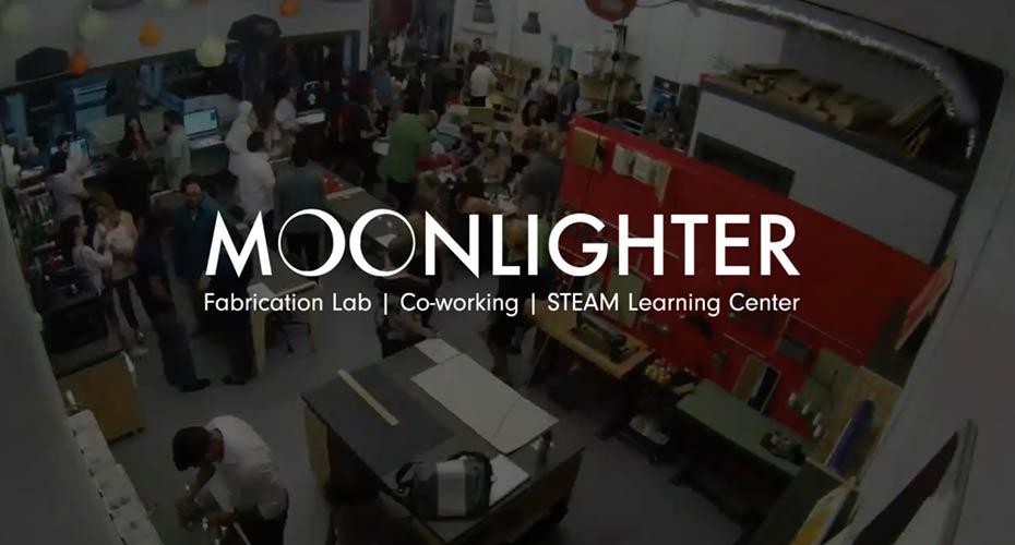 Moonlighter Makerspace homepage