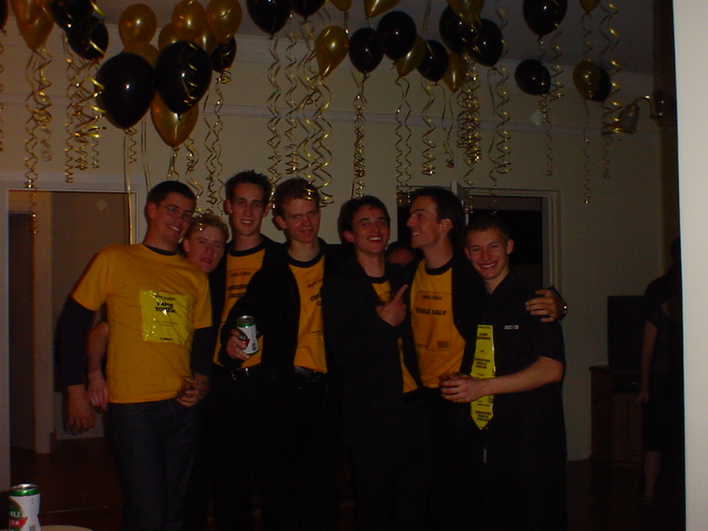 Evan's Black & Gold 21st