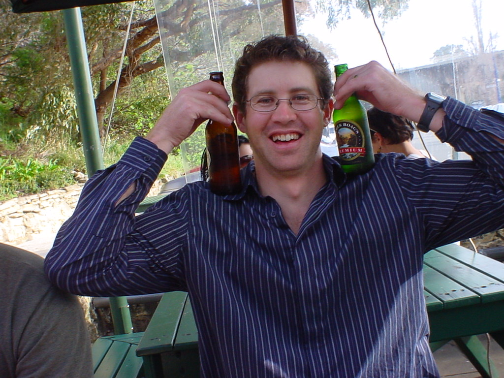 Brett, Sporting Some Beers
