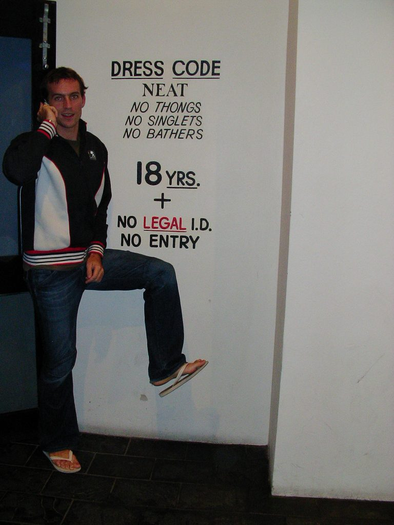 Tim Flaunting The Rules