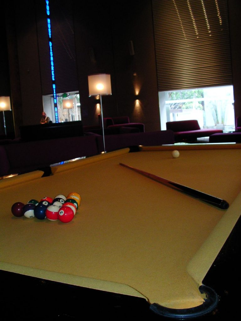 The Standard Pool Table