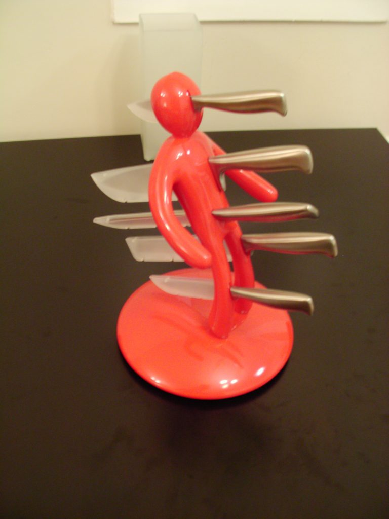 Voodoo Knife Block