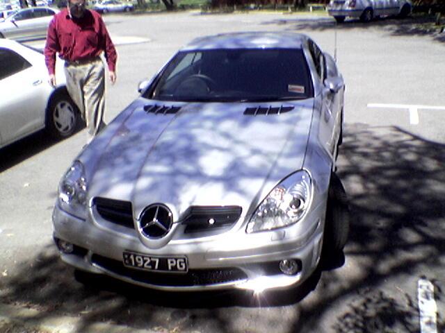 Peter's Mercedes SLK55