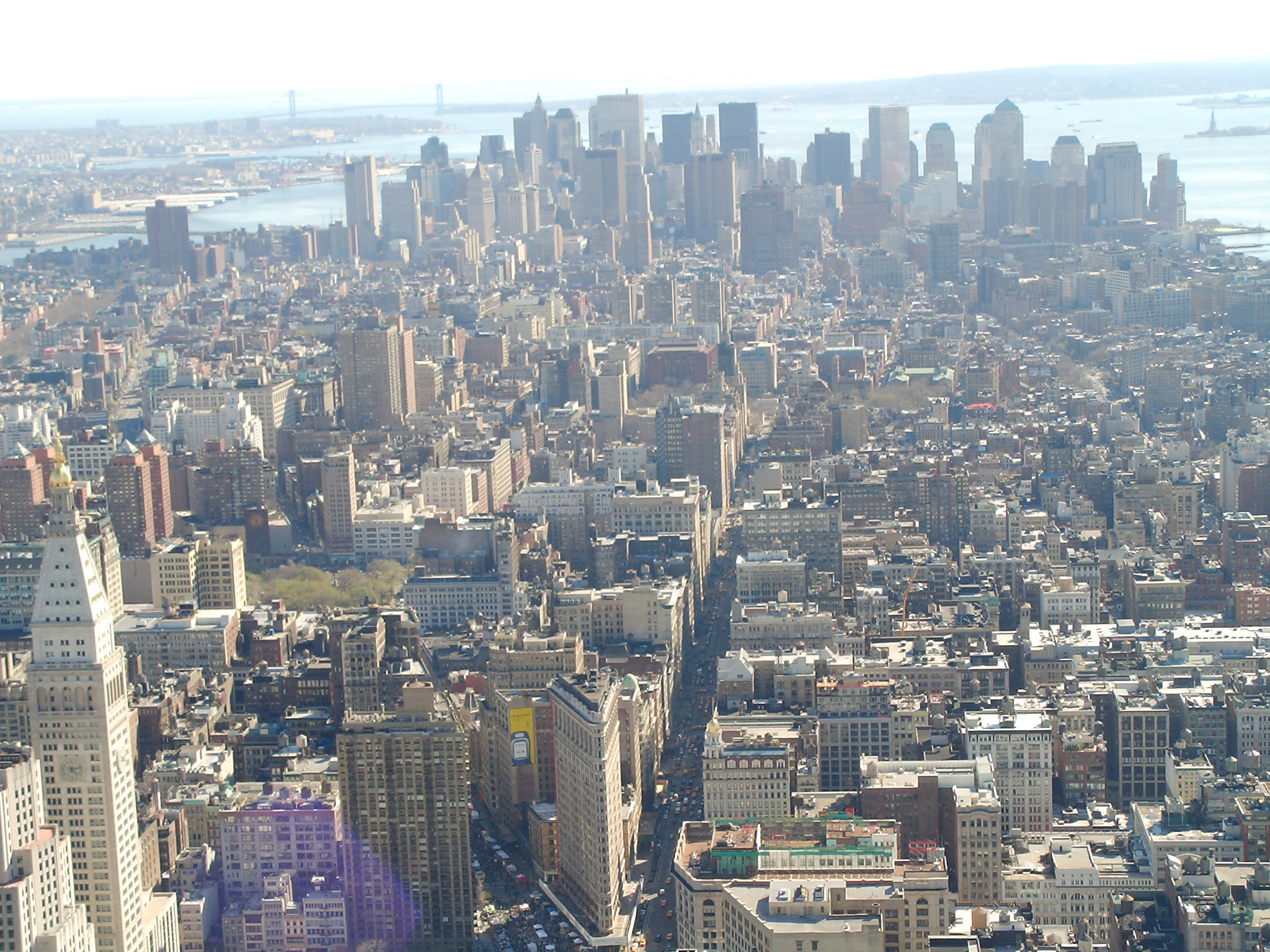 Downtown from The Empire State Building