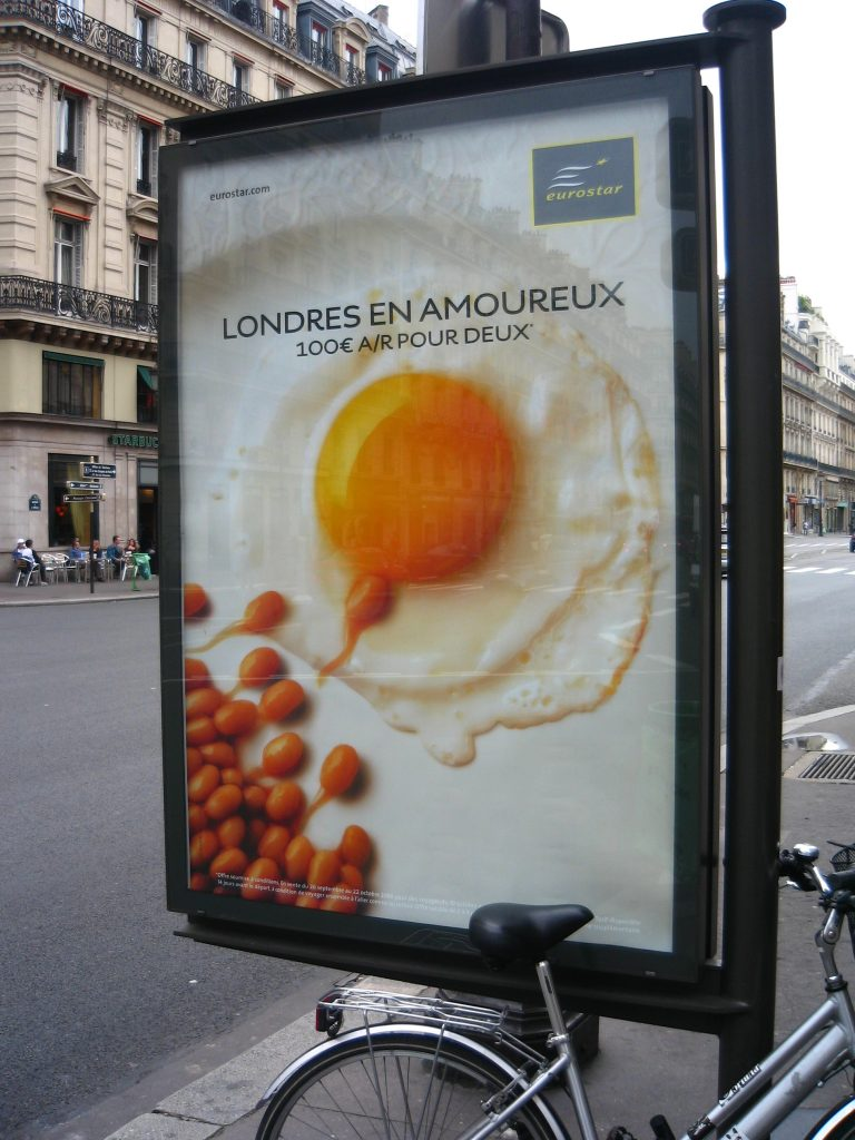 Crazy Billboard on Rue de l'Opera