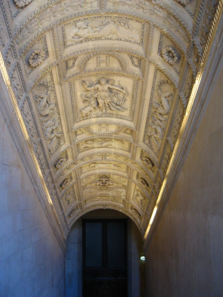 A Stairwell in The Louvre
