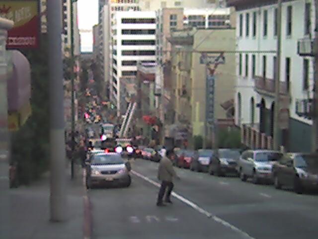 Drama on Sacramento St