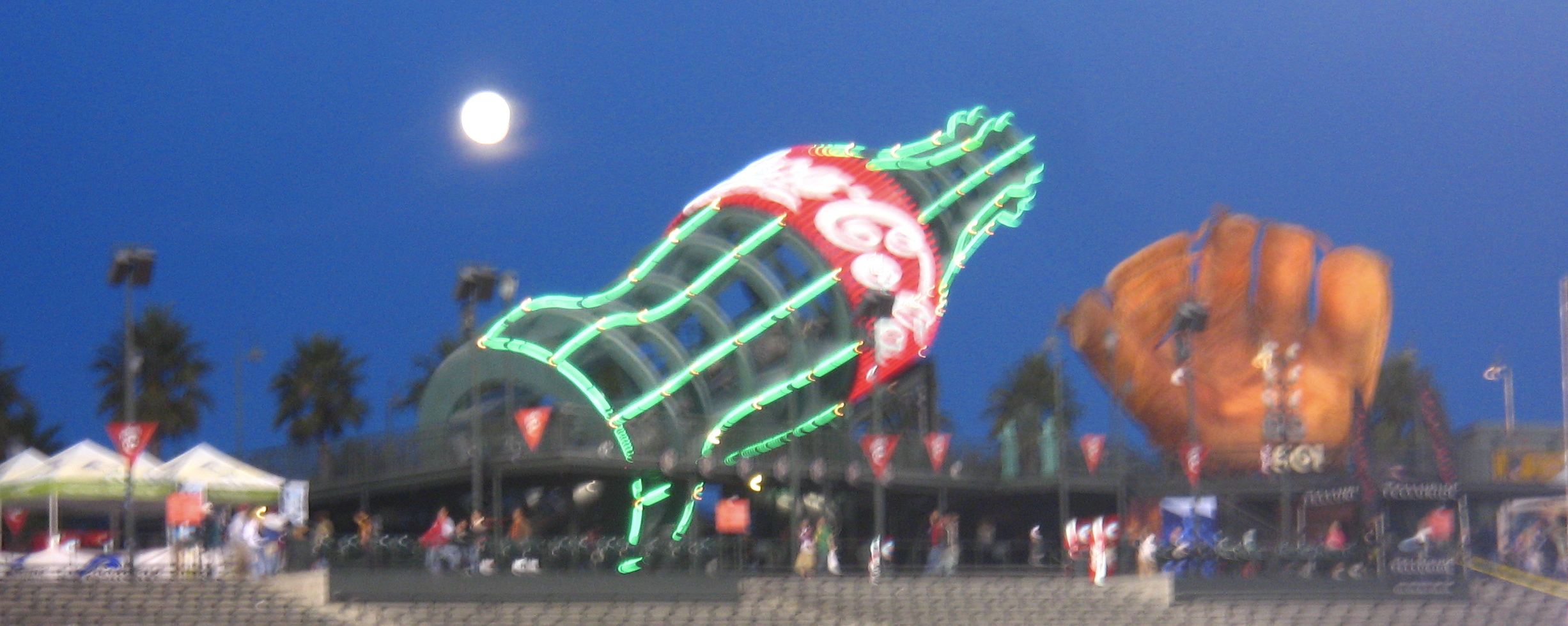 Moon Over the Coke Glove