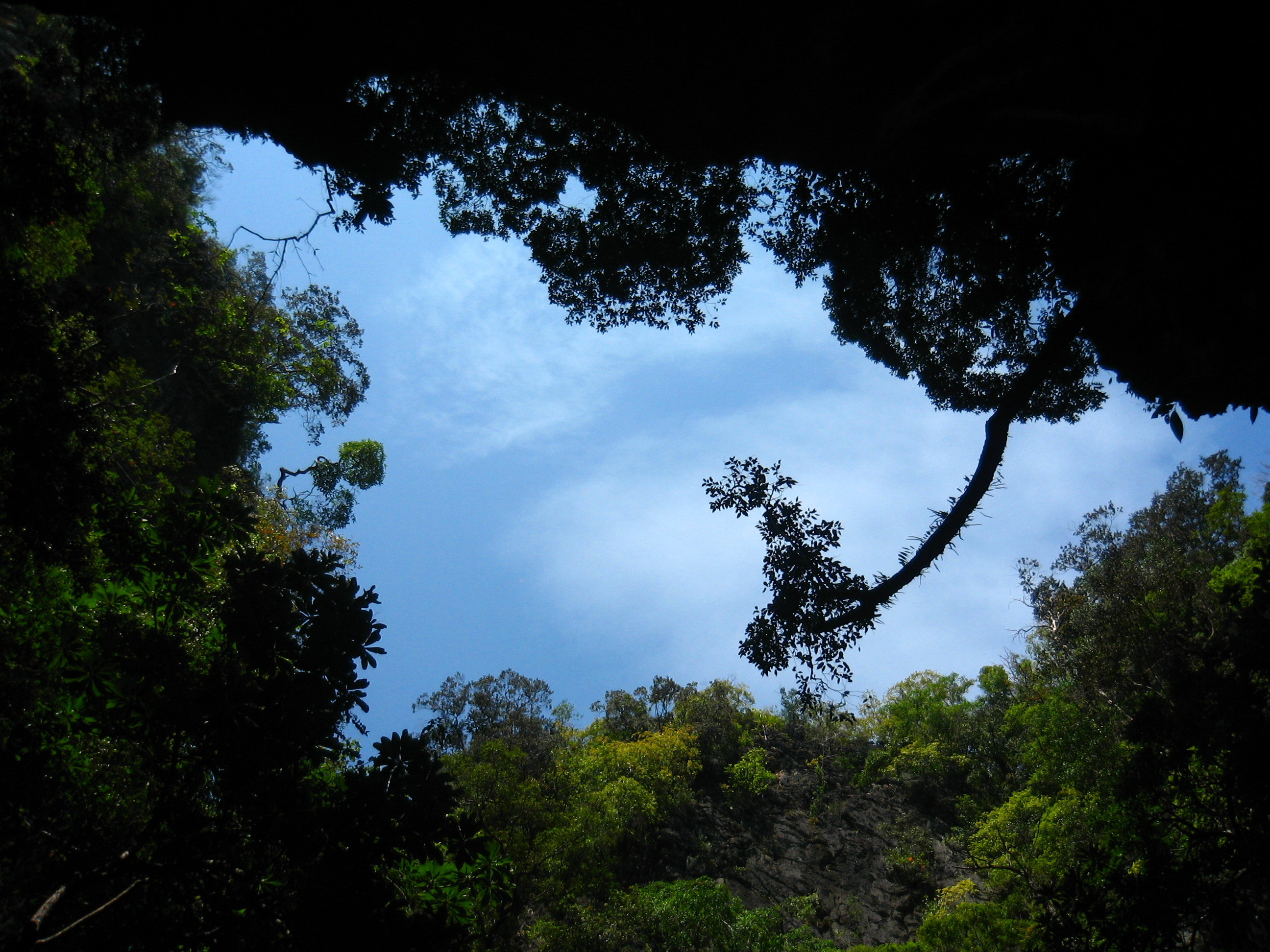 Inside the island