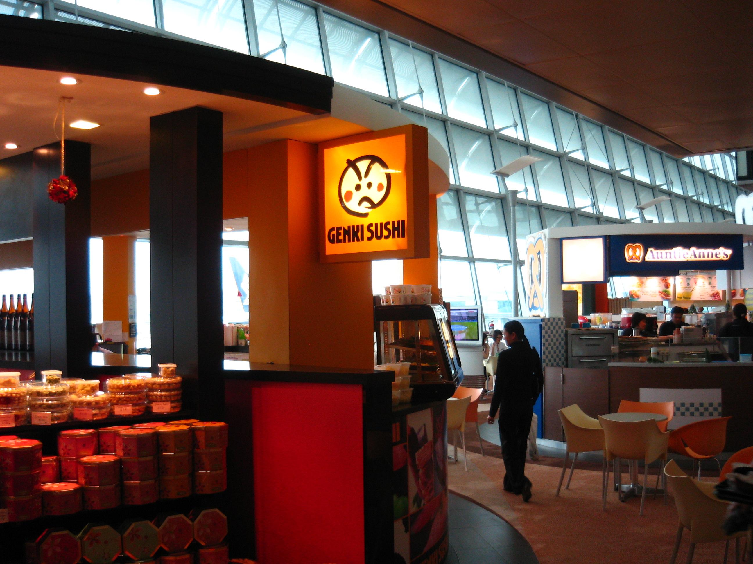 Genki in Singapore Airport