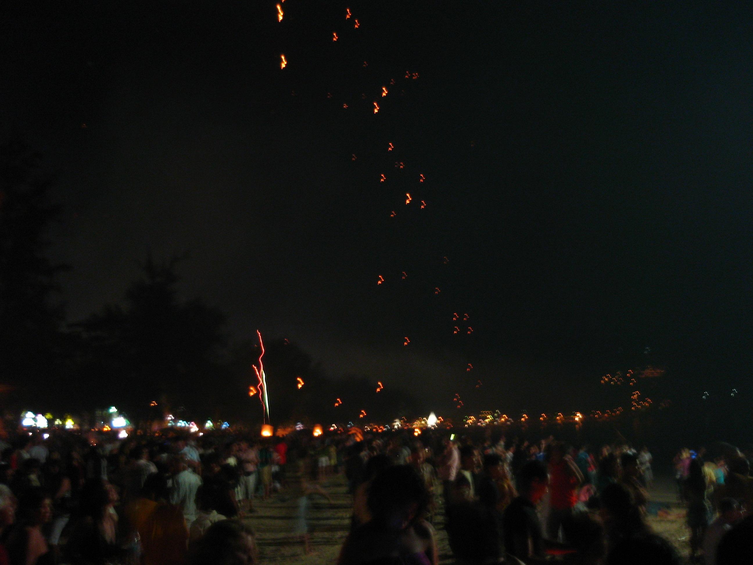 Fire Balloons