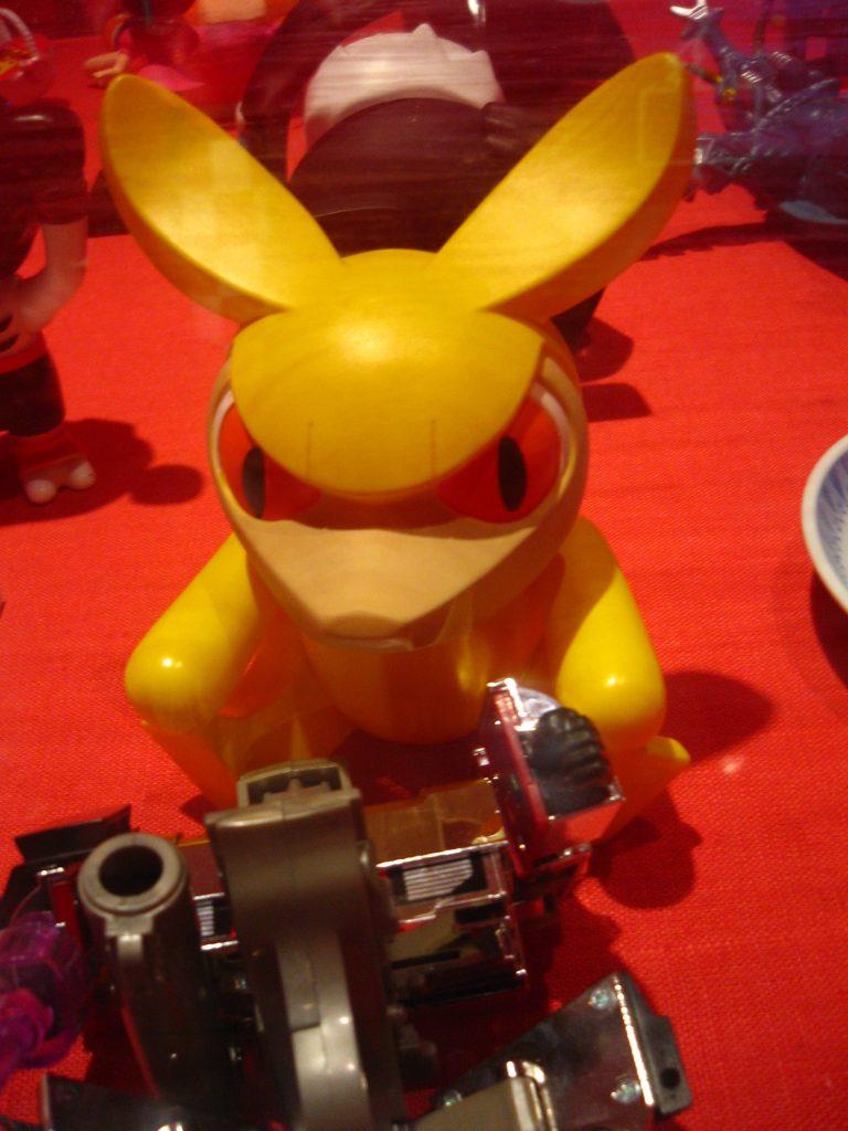 Yellow Devil Bunny Thing