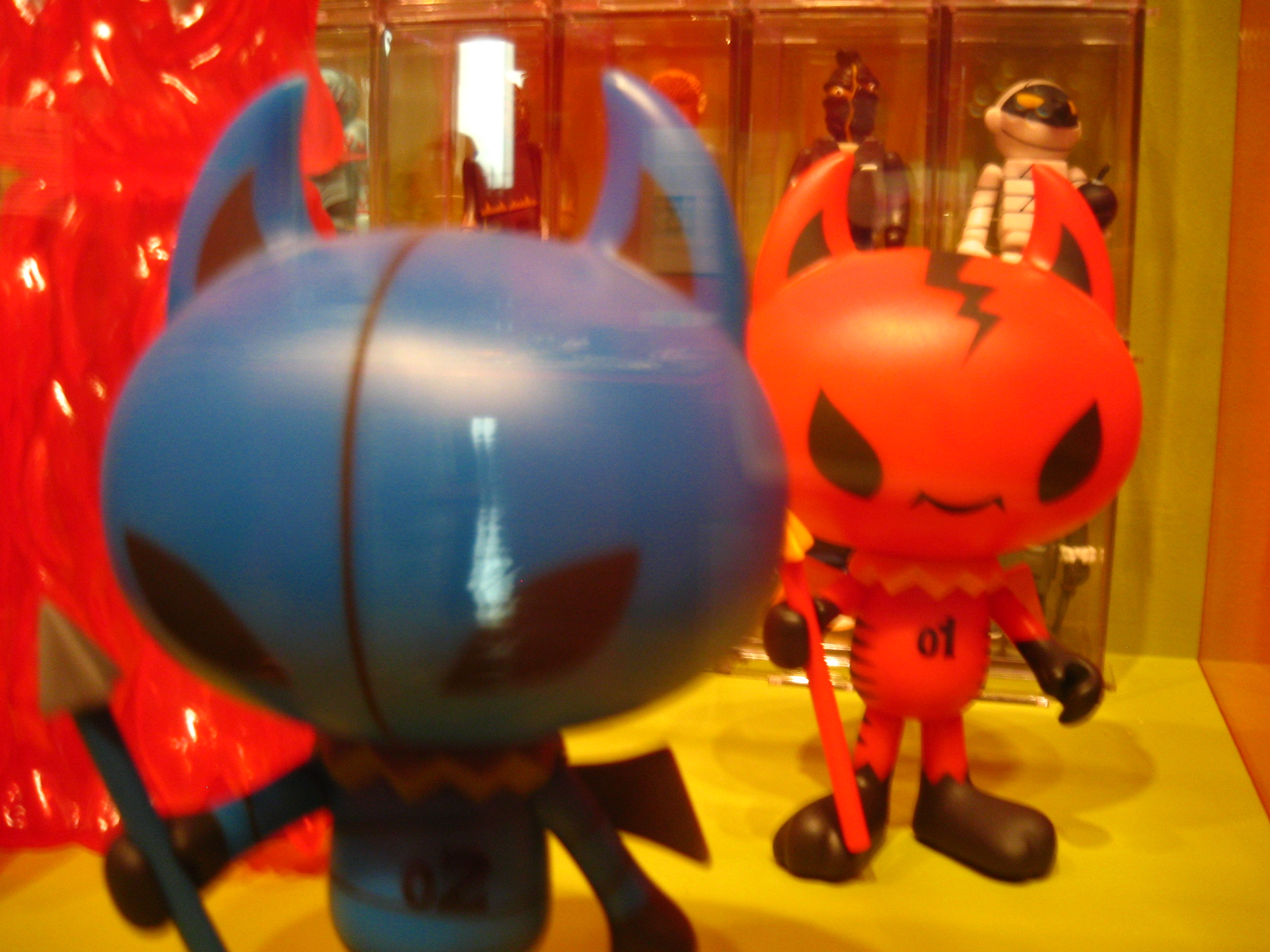 Devil Figurines