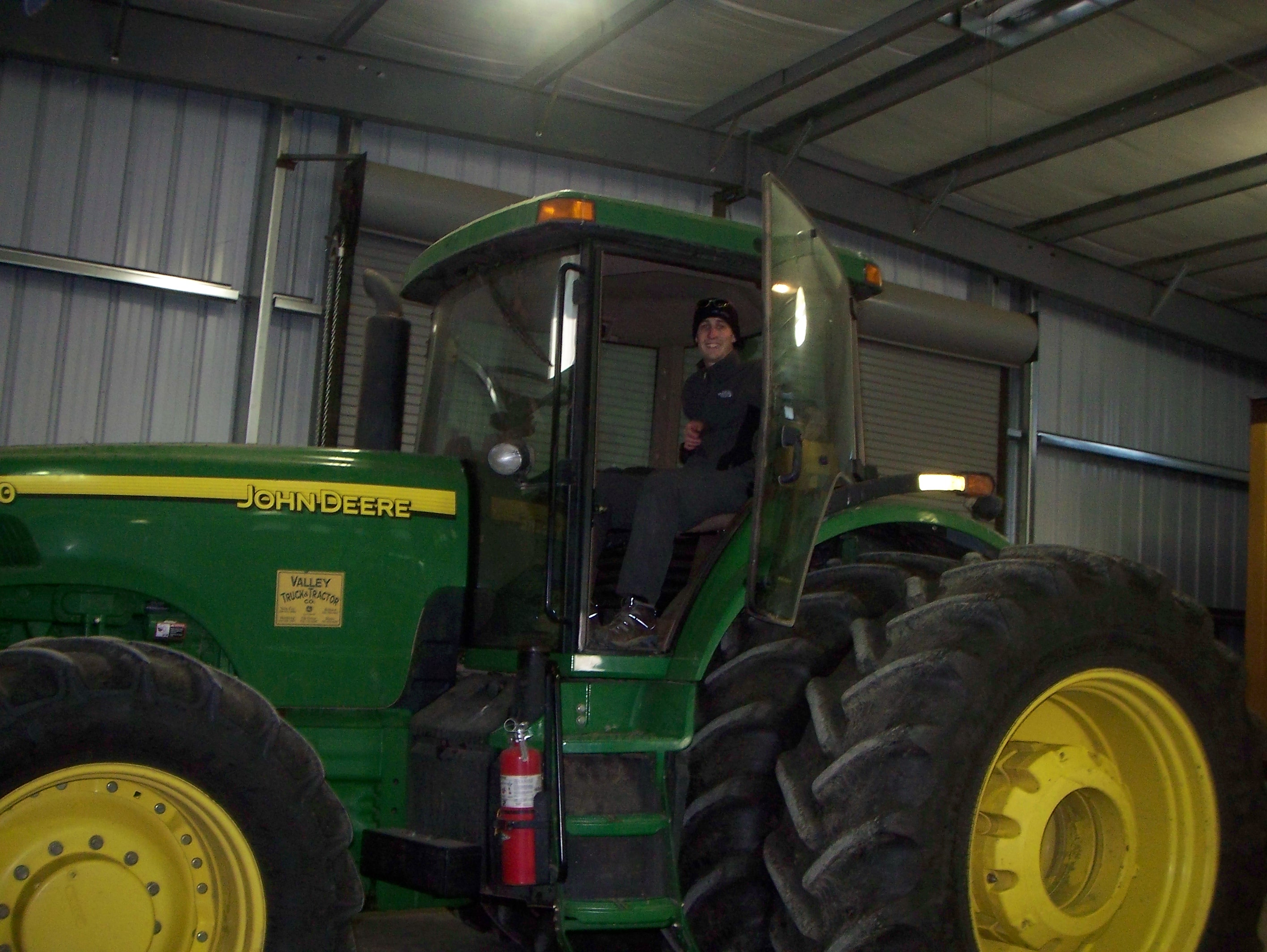 I'm in a Tractor