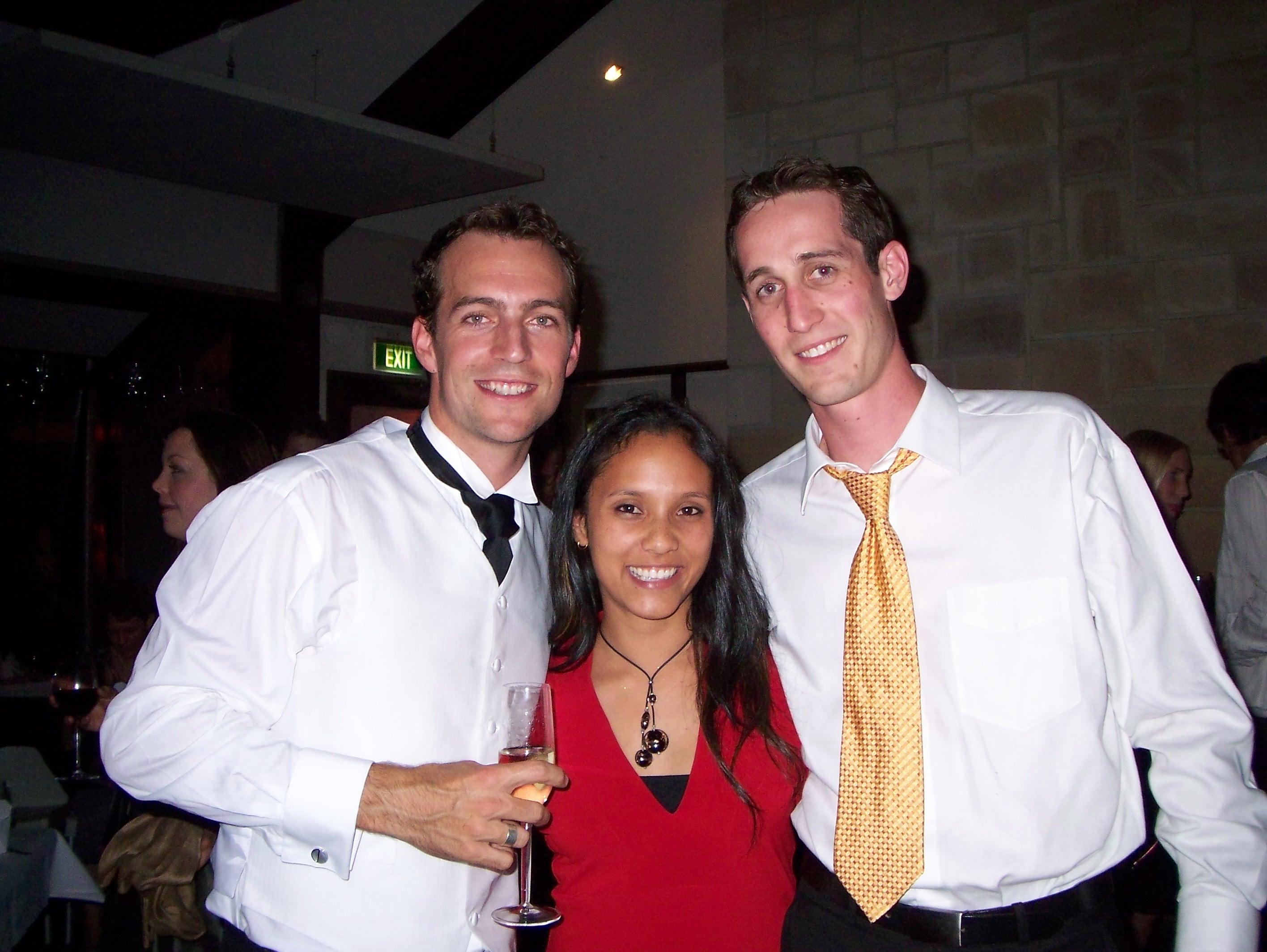 Tim, Shanthi and Me
