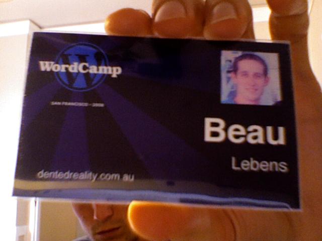 WordCamp Badge