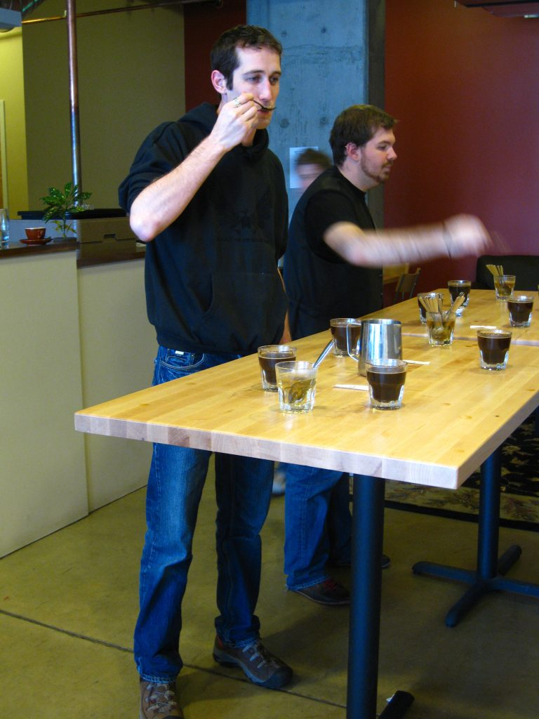 Barefoot Coffee Cupping