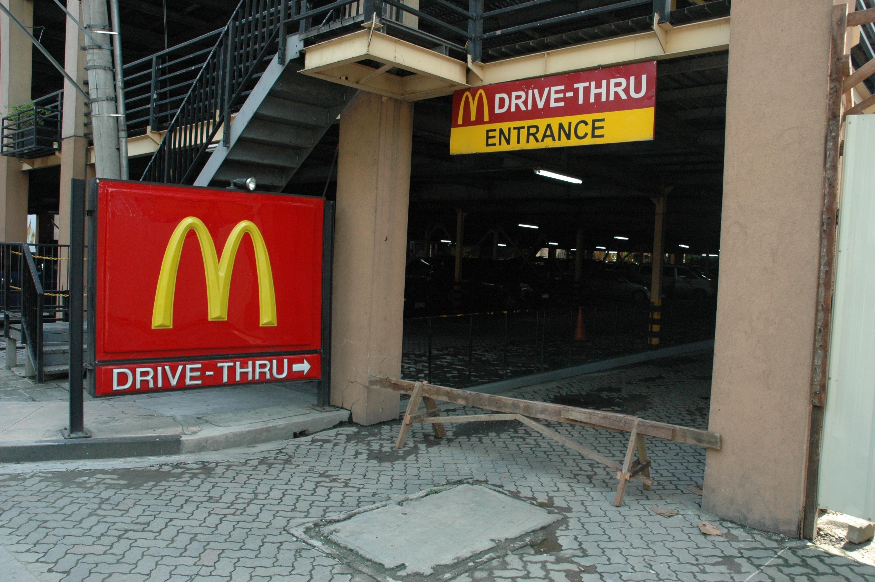 No MacDonald's For You!