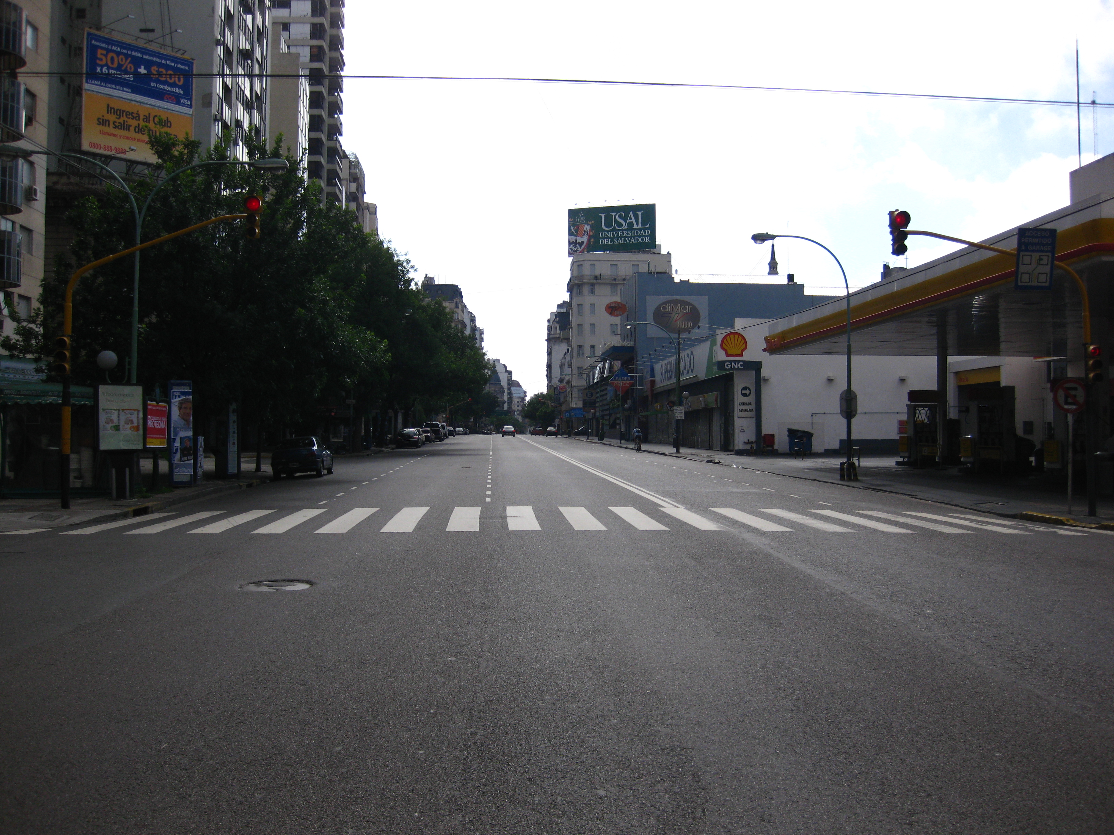 Empty Streets Buenos Aires