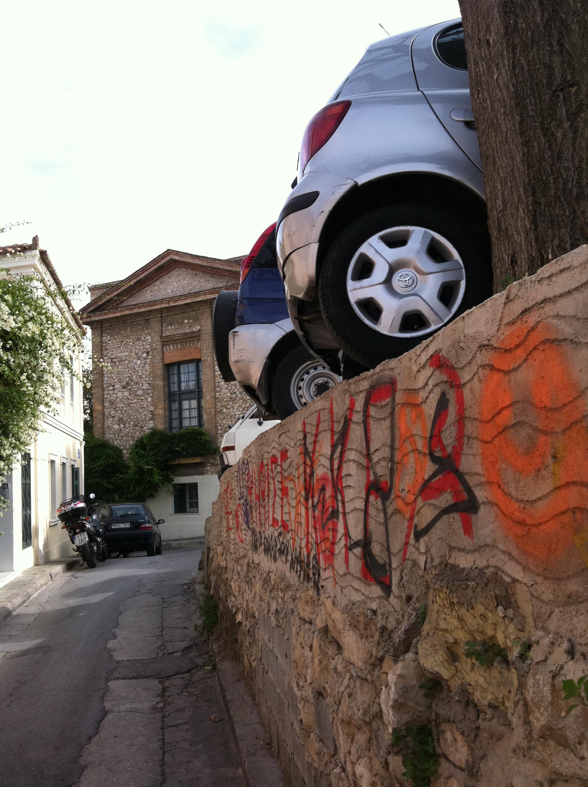 Precarious Parking
