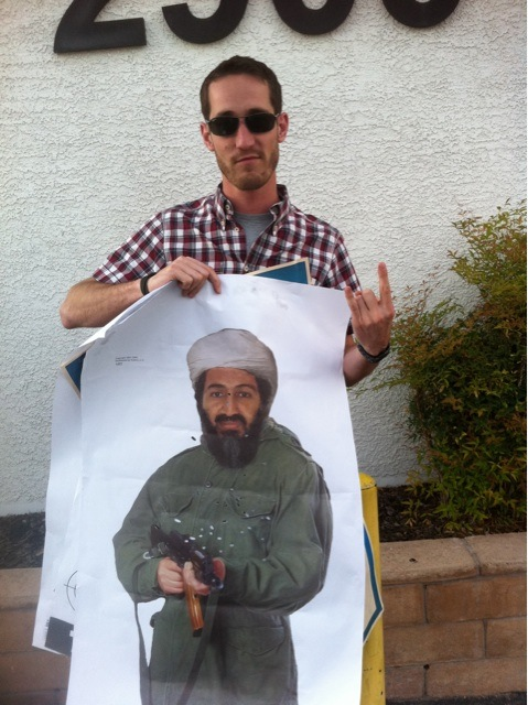 I got Bin Laden