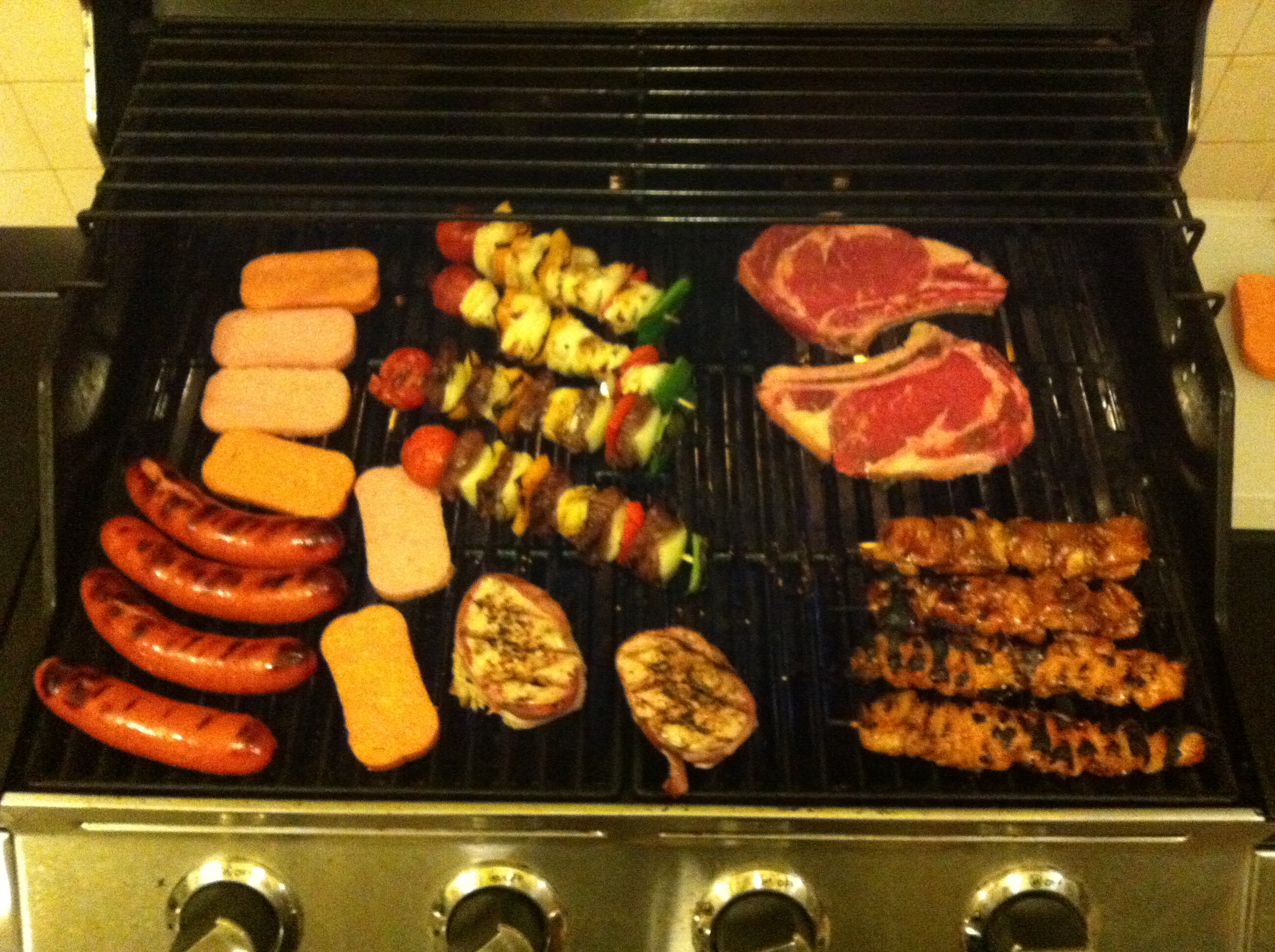 The Grilling of the Meats