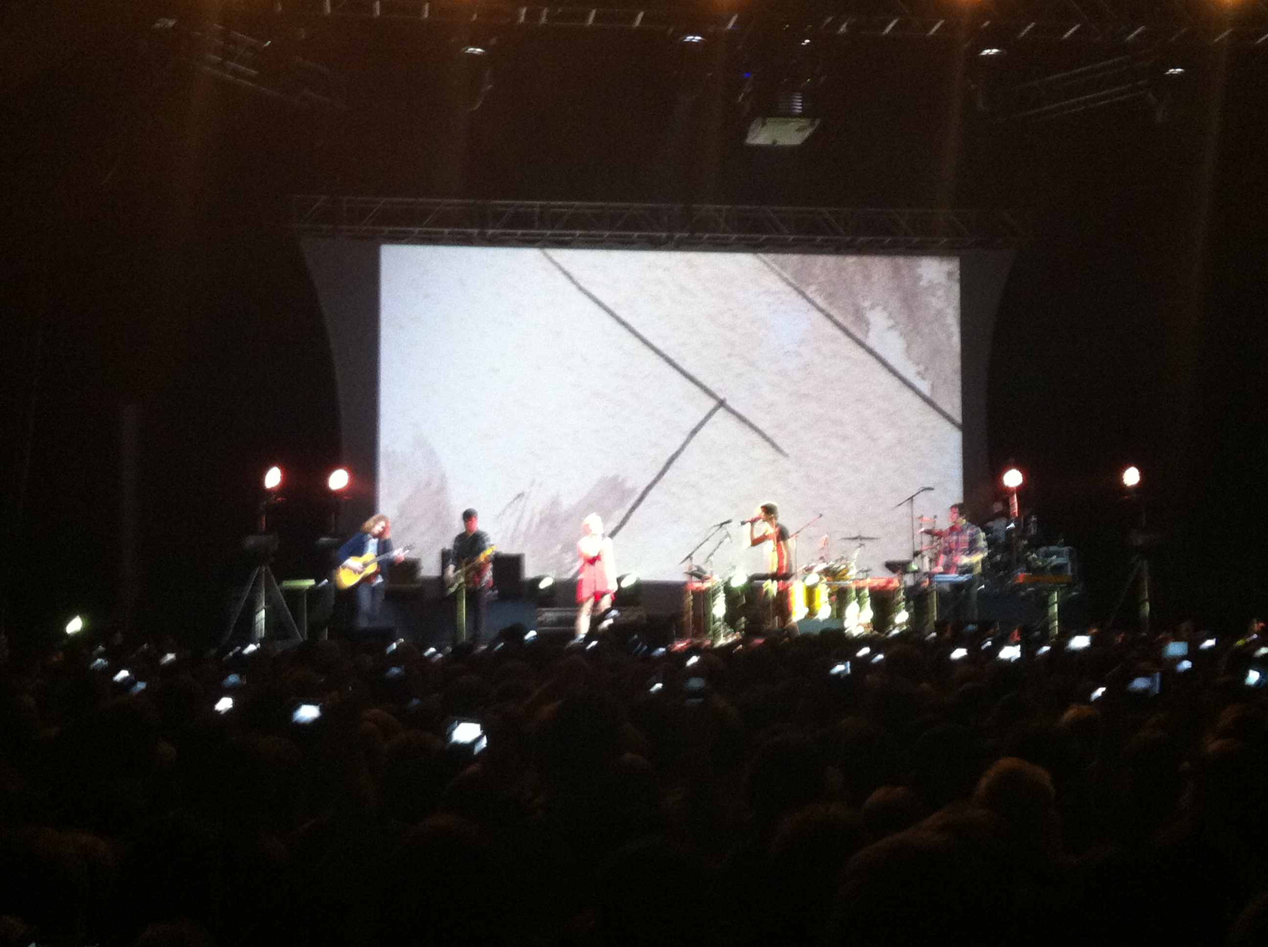 Gotye at Bill Graham Civic Auditorium