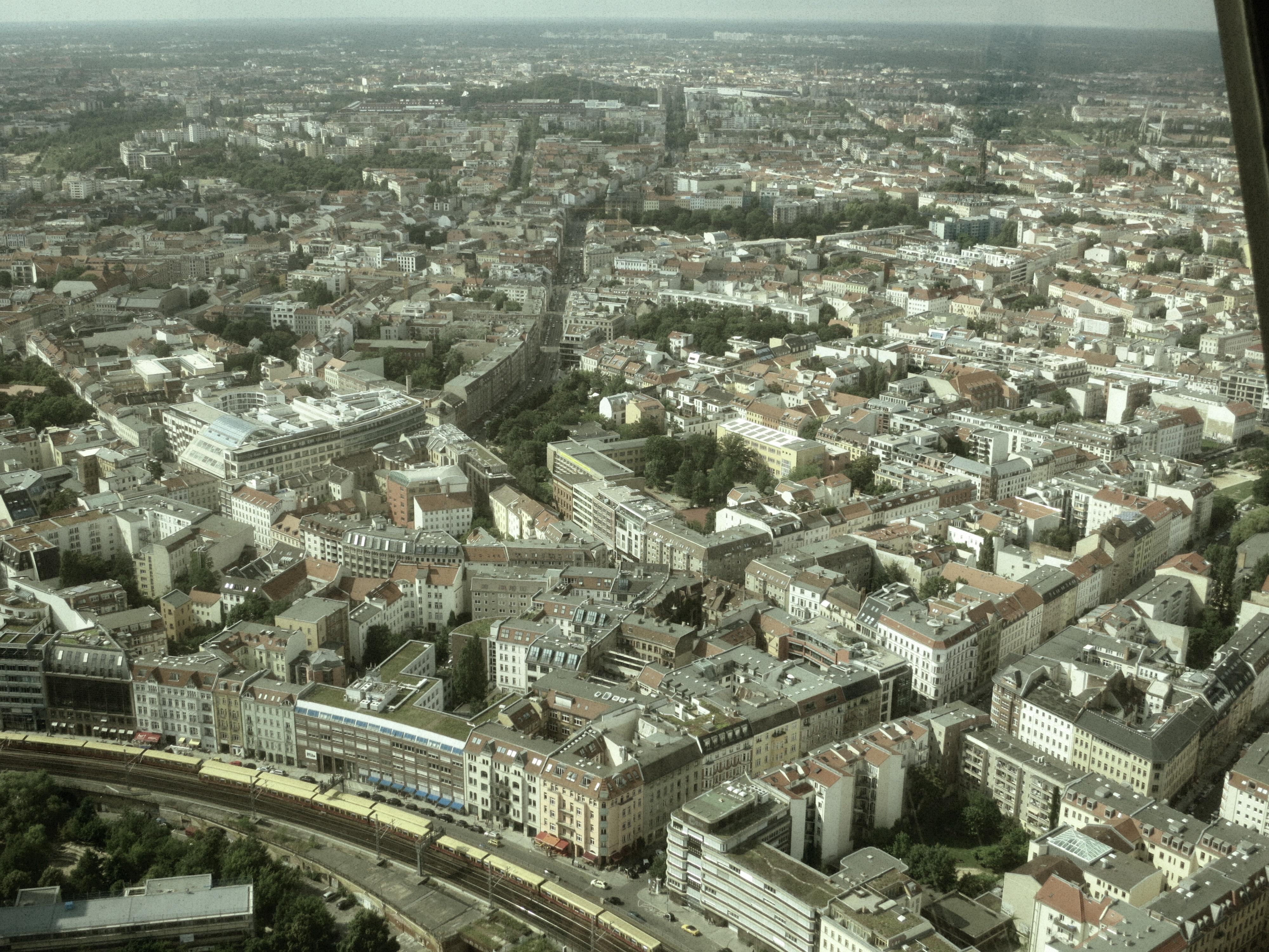View from Fernsehturm Berlin