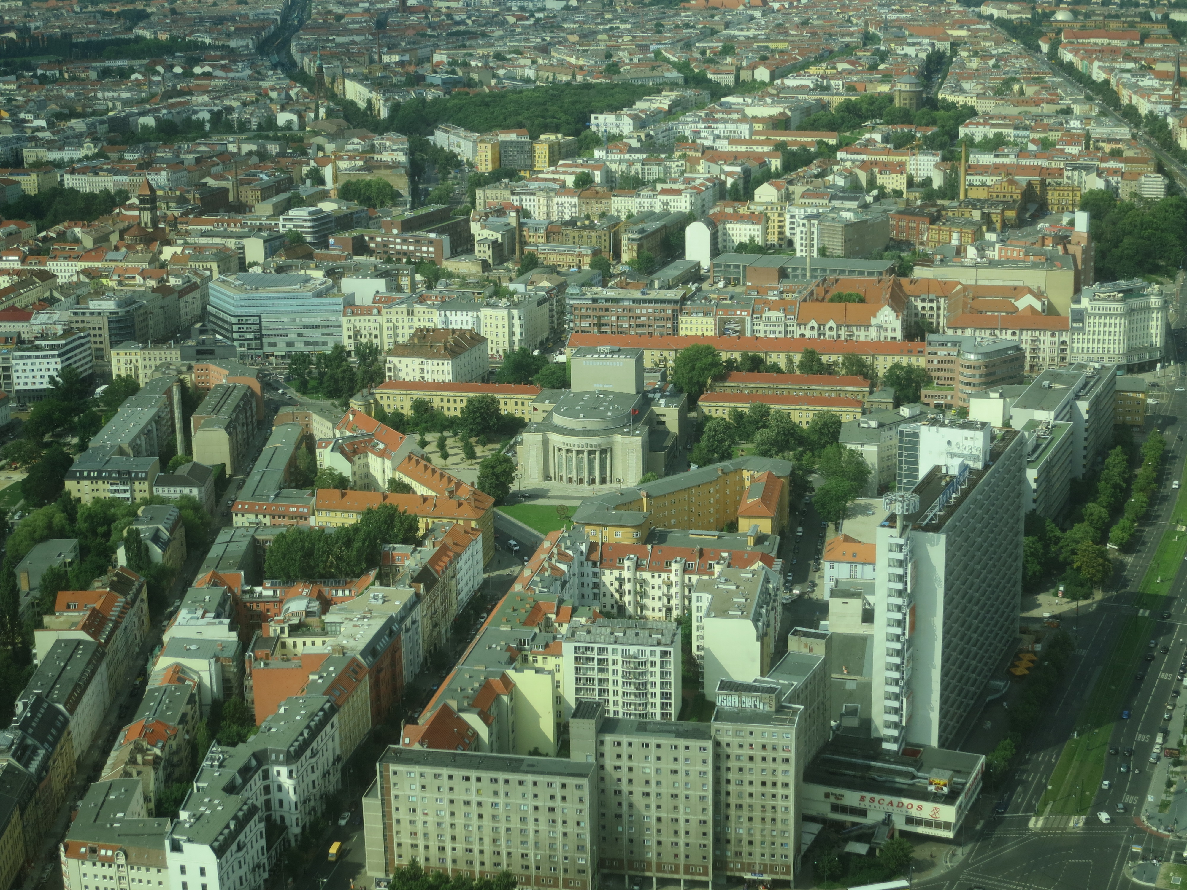 View from Fernsehturm Berlin