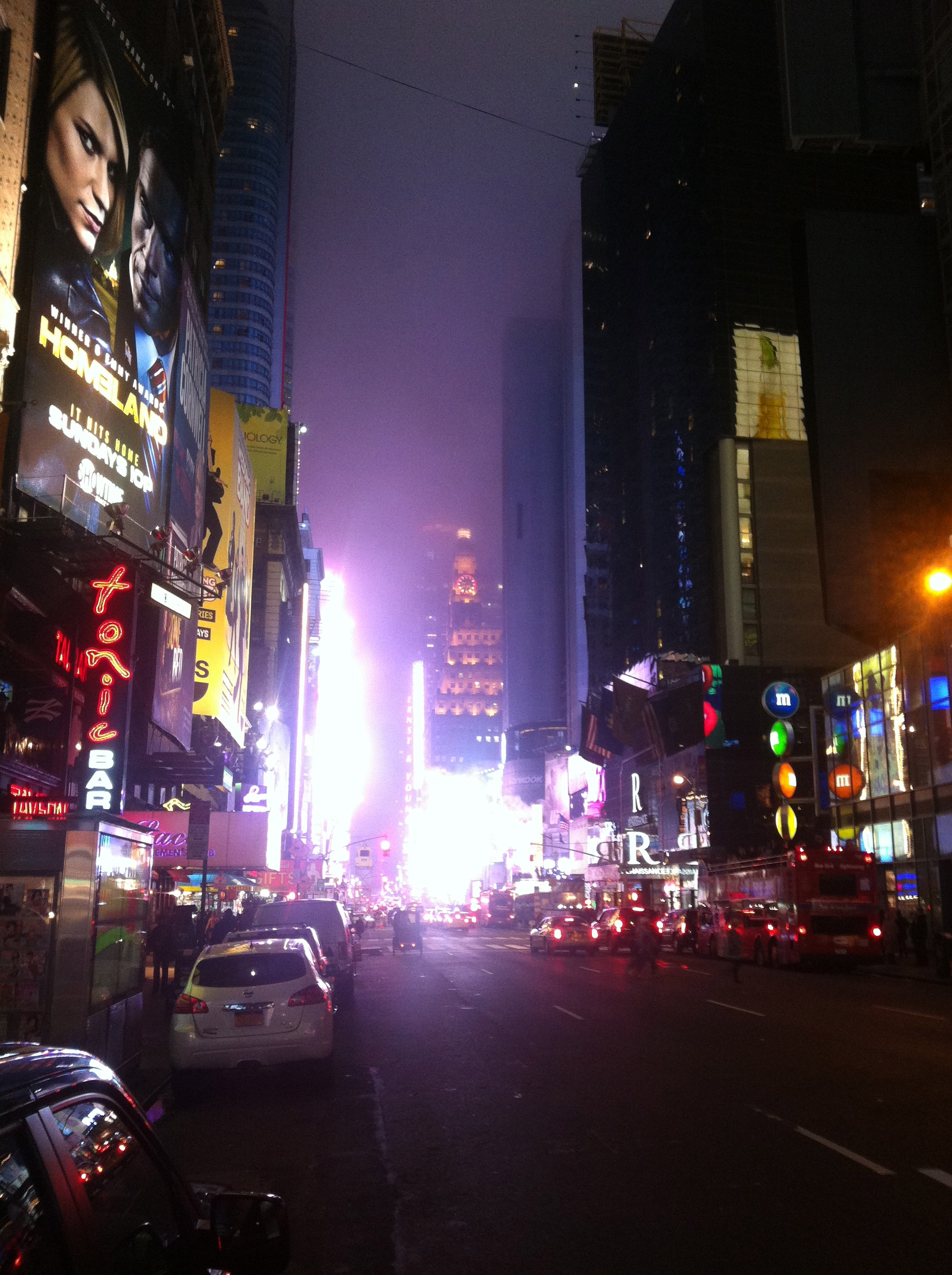 Time Square Glow