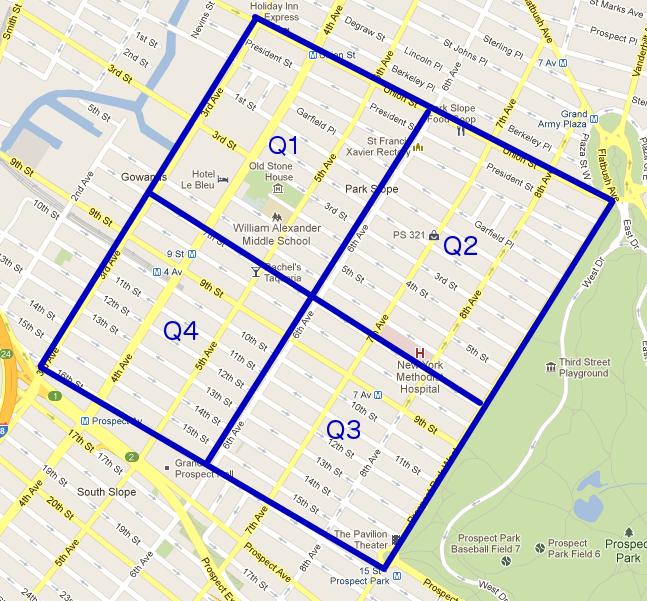 Park Slope Grid Walk