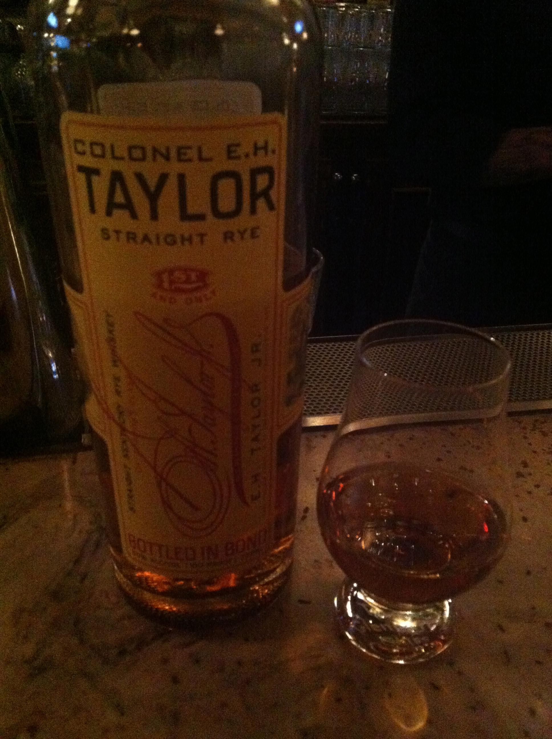 E.H. Taylor Rye