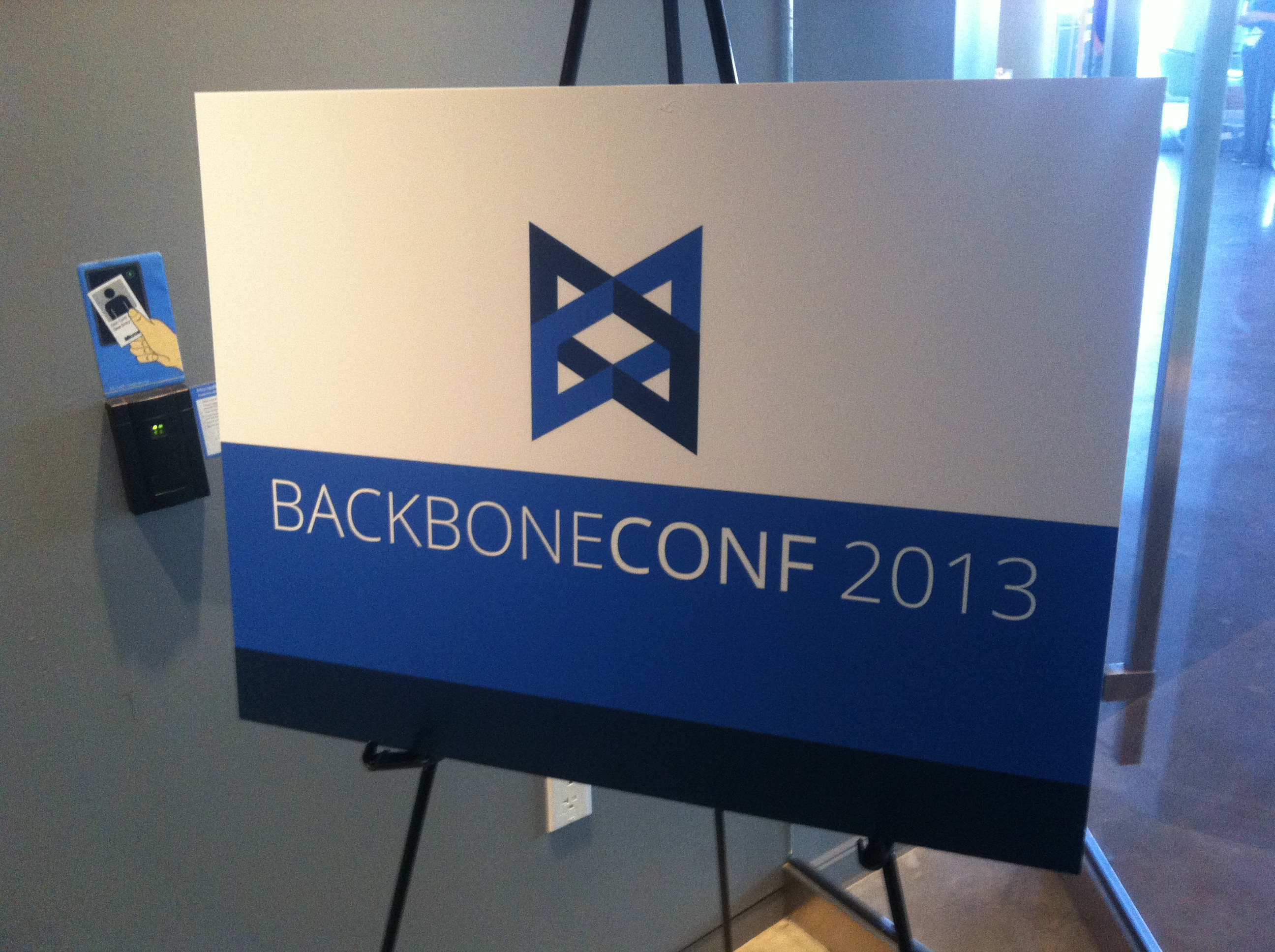 BackboneConf Boston, 2013