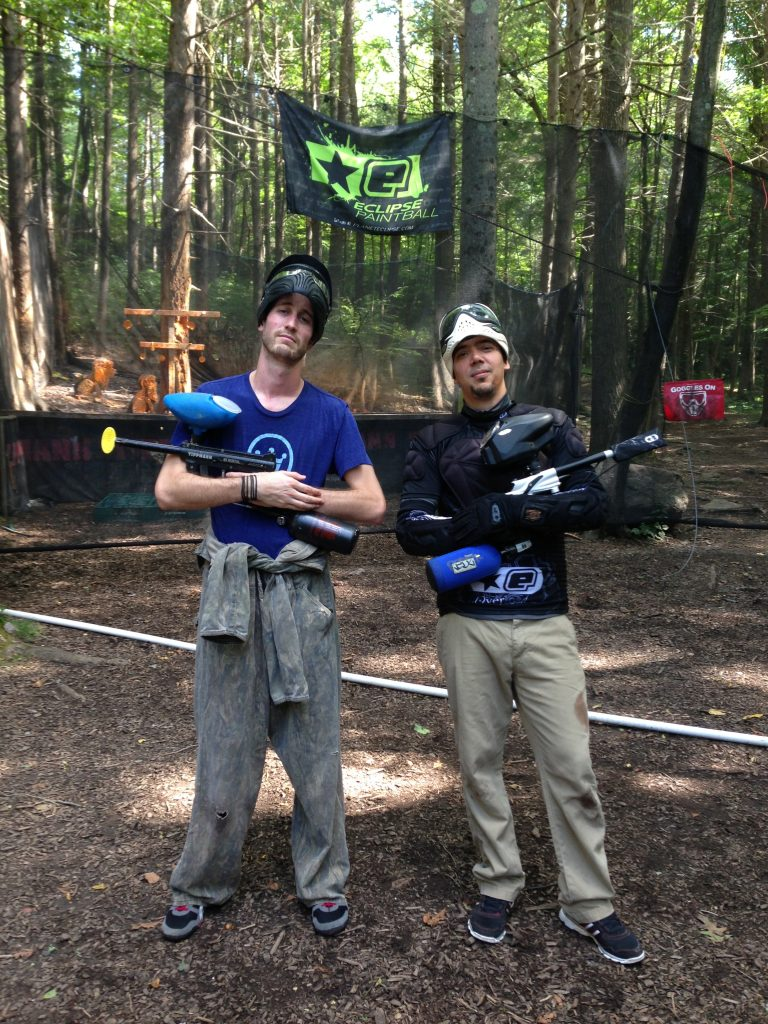 Paintballing in New Jersey