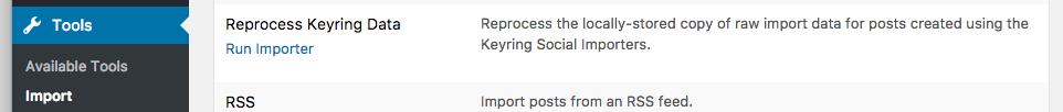 Social Importer Upgrade