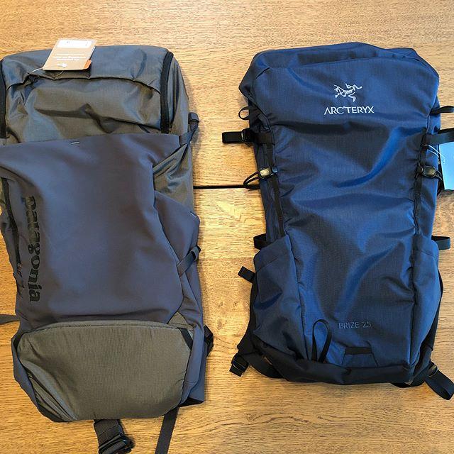 Arc'teryx Brize 25 vs Patagonia Nine Trails 28