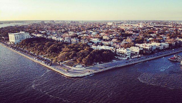 Hi Charleston! #dronestagram #djimavicair #dronephotography