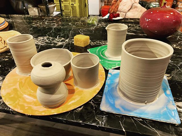 I'm making pots over here people.