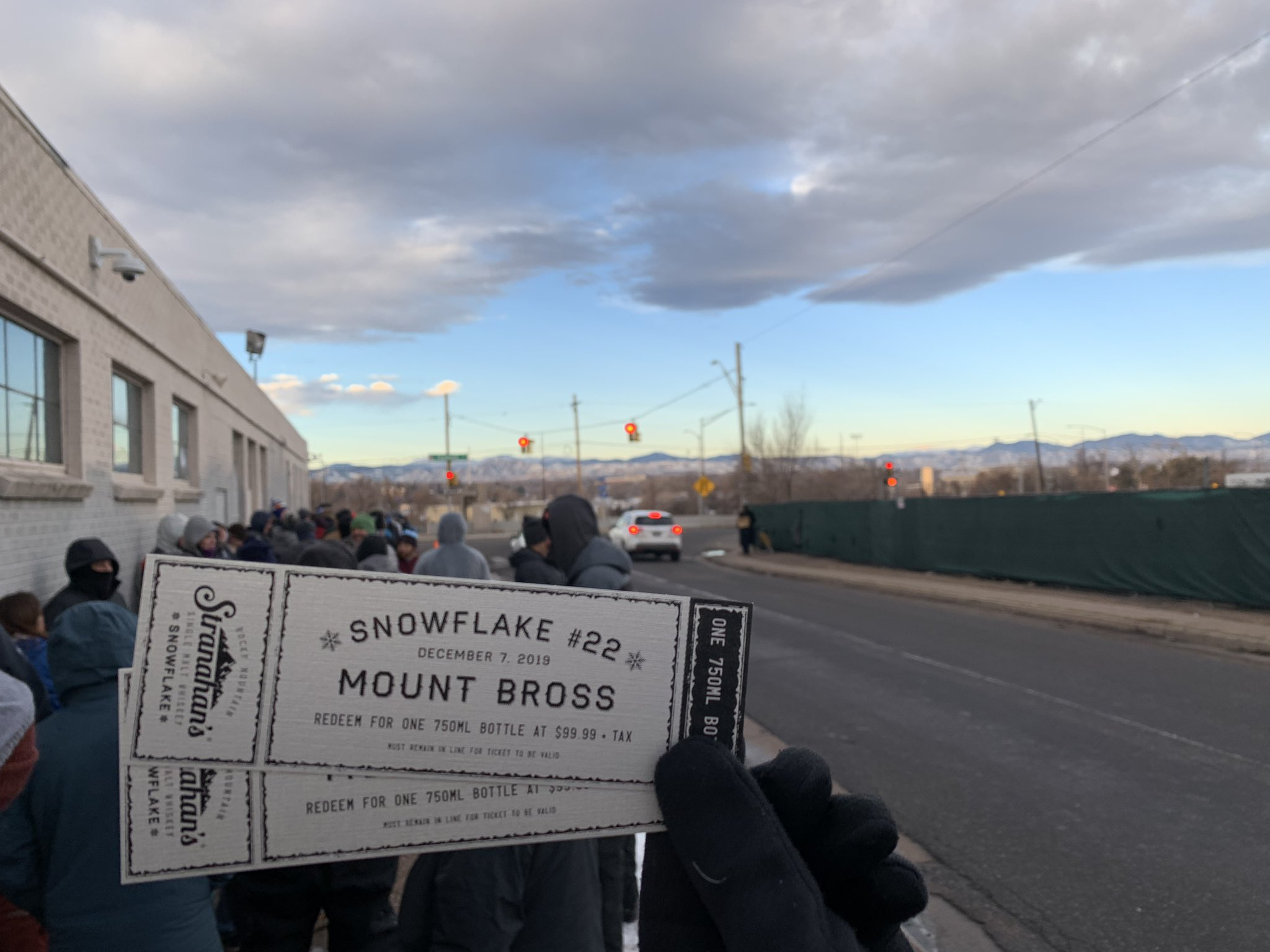 Tickets acquired! @Stranahans #Snowflake shall…