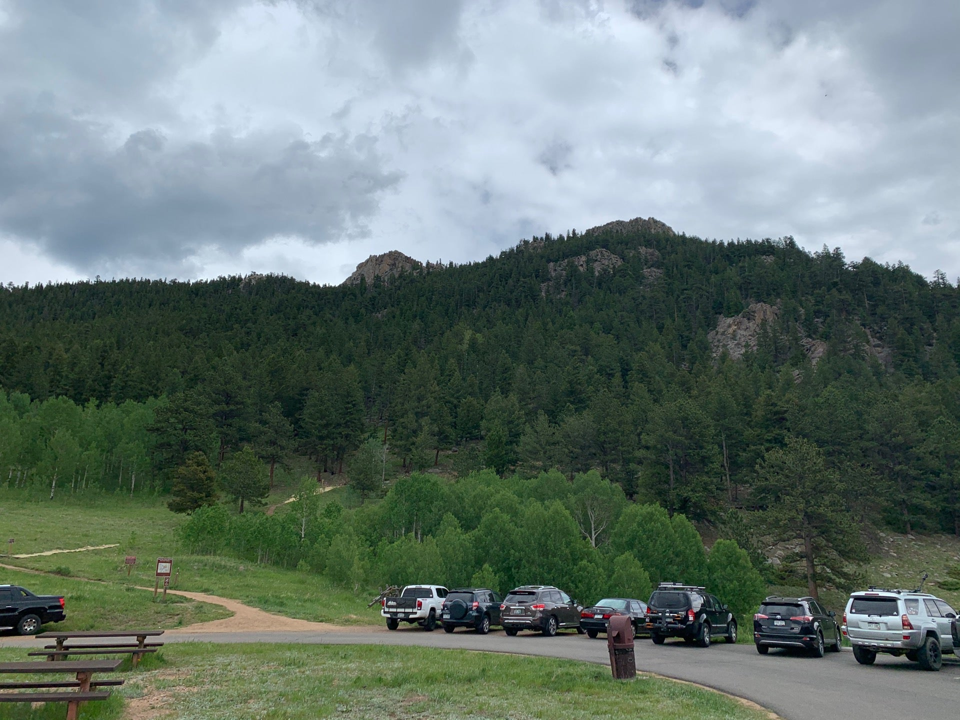 Checked in at Golden Gate Canyon State Park