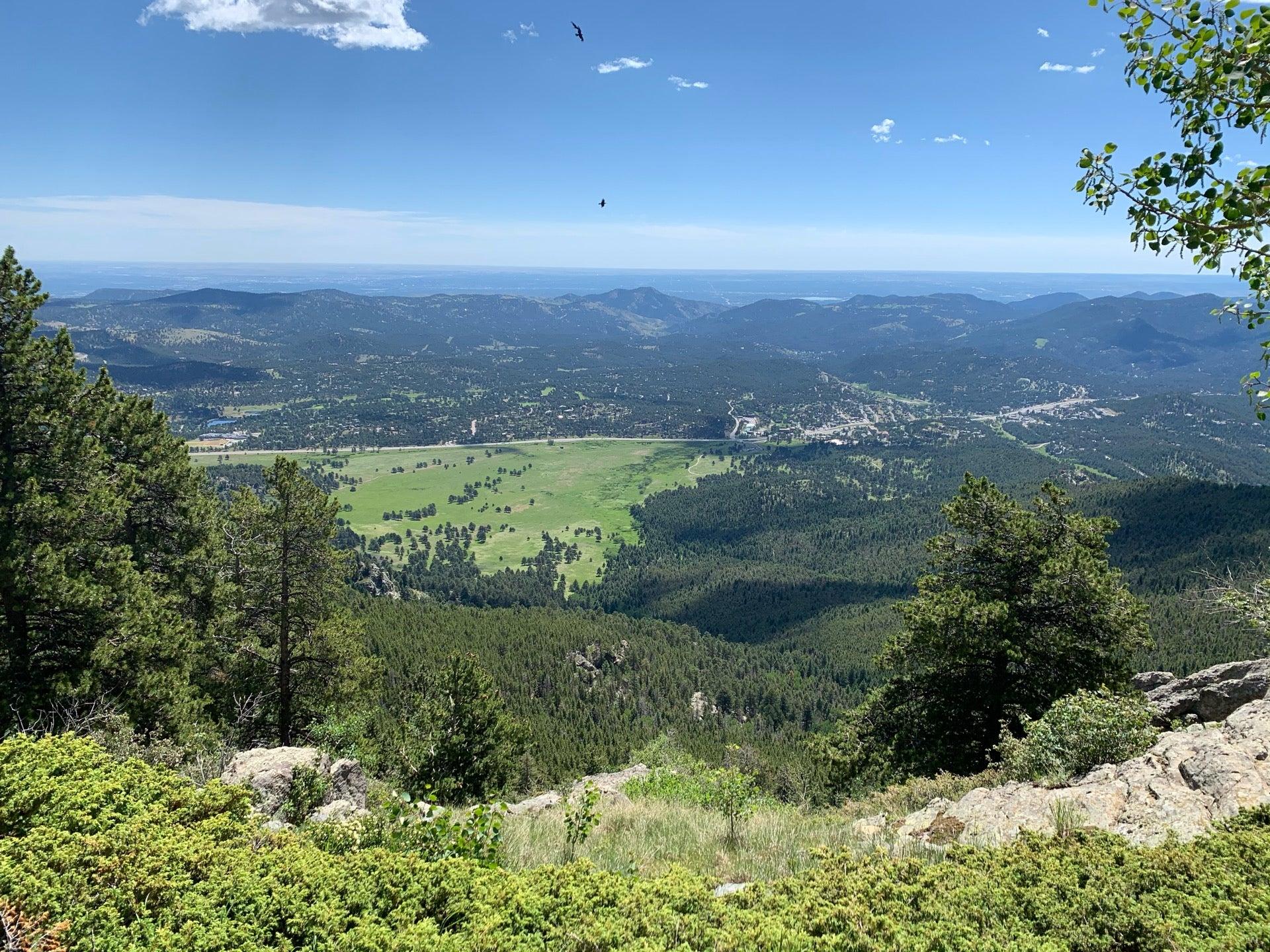 Checked in at Bergen Peak Trail