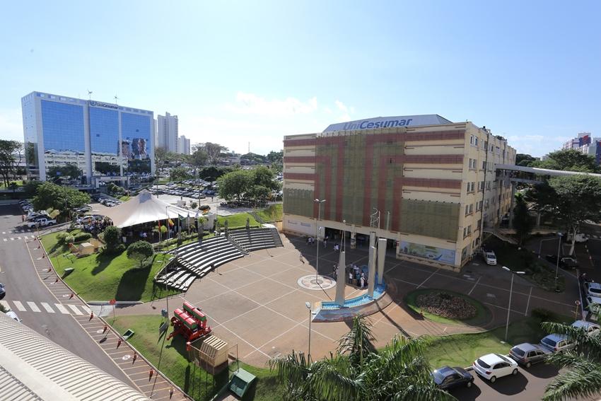 UniCesumar, quarta melhor universidade do Brasil e oitavo maior grupo educacional do país. Crédito: Divulgação.
