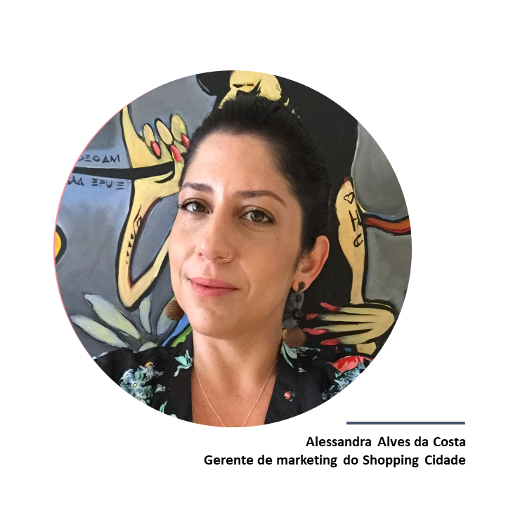 Alessandra Alves da Costa, gerente de marketing do Shopping Cidade.