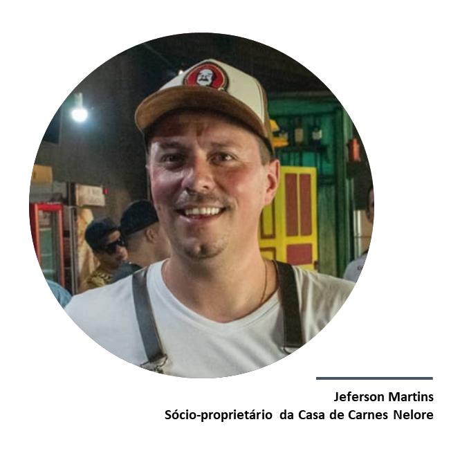 Jeferson Martins, sócio-proprietário da Casa de Carnes Nelore