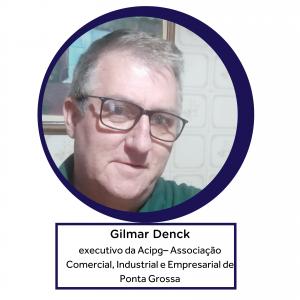 Gilmar Denck, executivo da Acipg – Associação Comercial, Industrial e Empresarial de Ponta Grossa