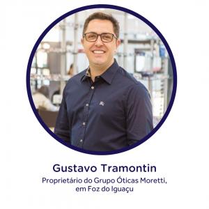 Gustavo Tramontin, proprietário do Grupo Óticas Moretti, em Foz do Iguaçu