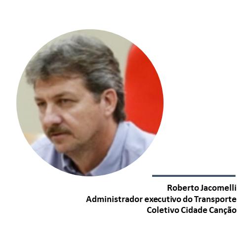 Roberto Jacomelli, administrador executivo do Transporte Coletivo Cidade Canção