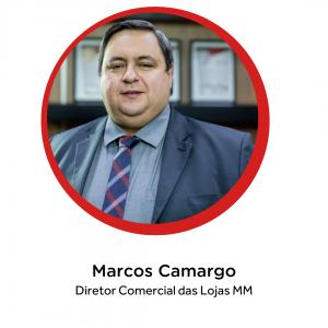 Marcos Camargo, diretor comercial das Lojas MM