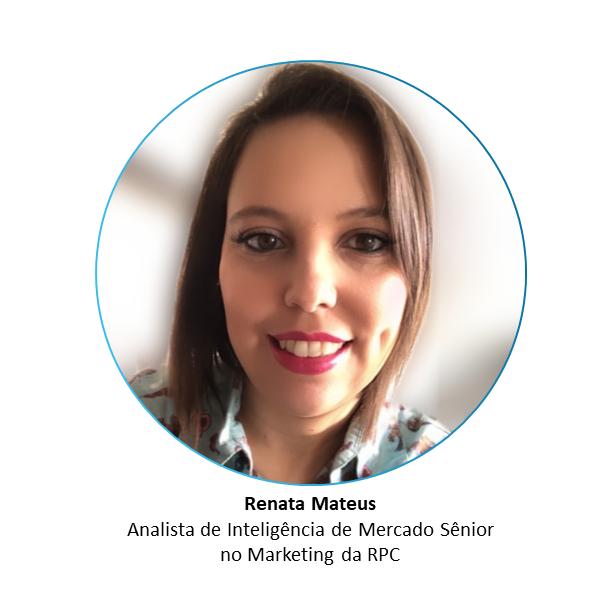 Renata Mateus, analista de inteligência de mercado sênior no marketing da RPC