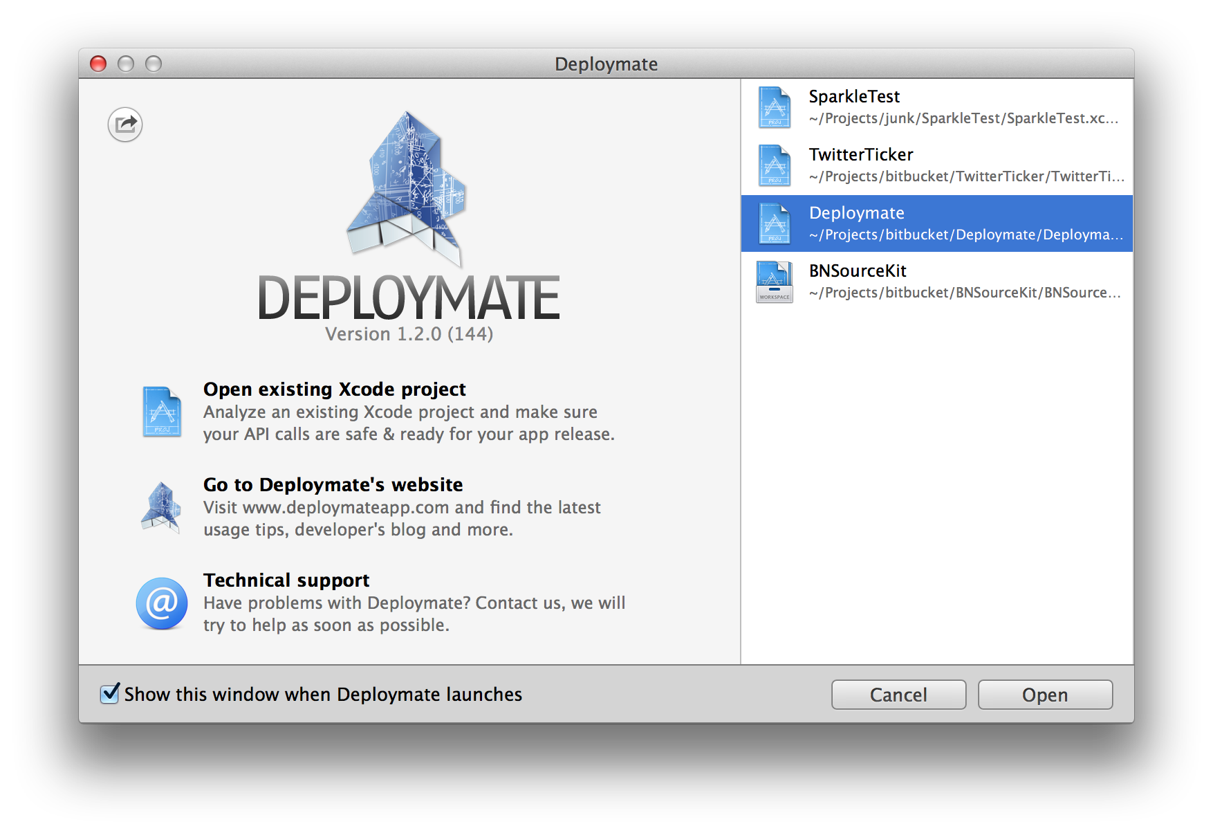 Deploymate for Mac 1.0.0 破解版 - iOS&Mac开发工具